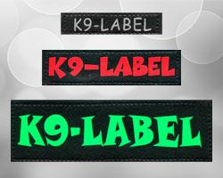 De verschillende maten labels