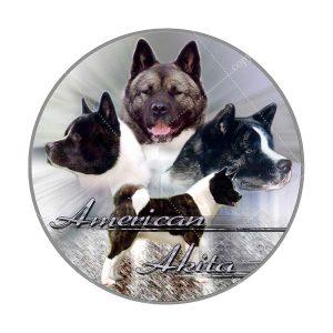 Sticker American Akita